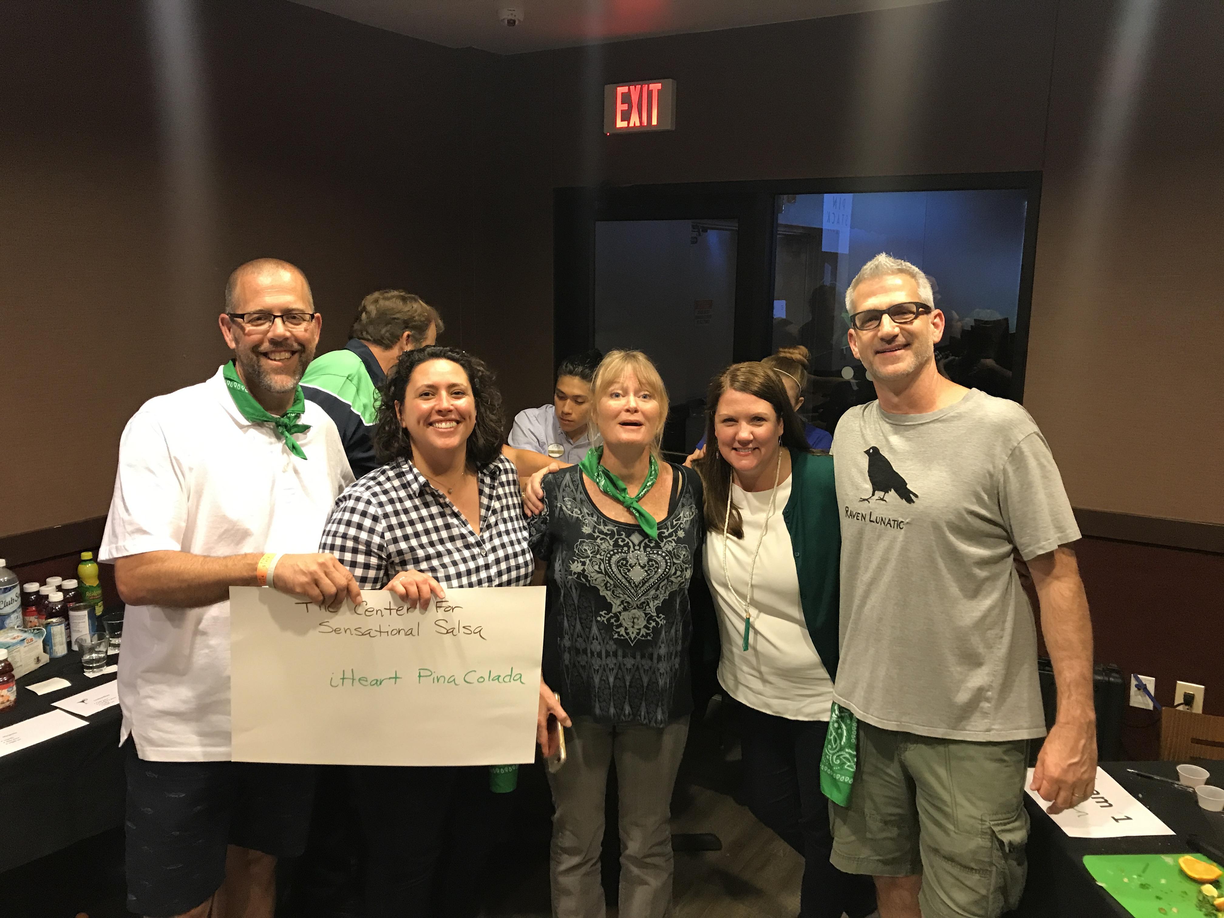 css staff meeting green team